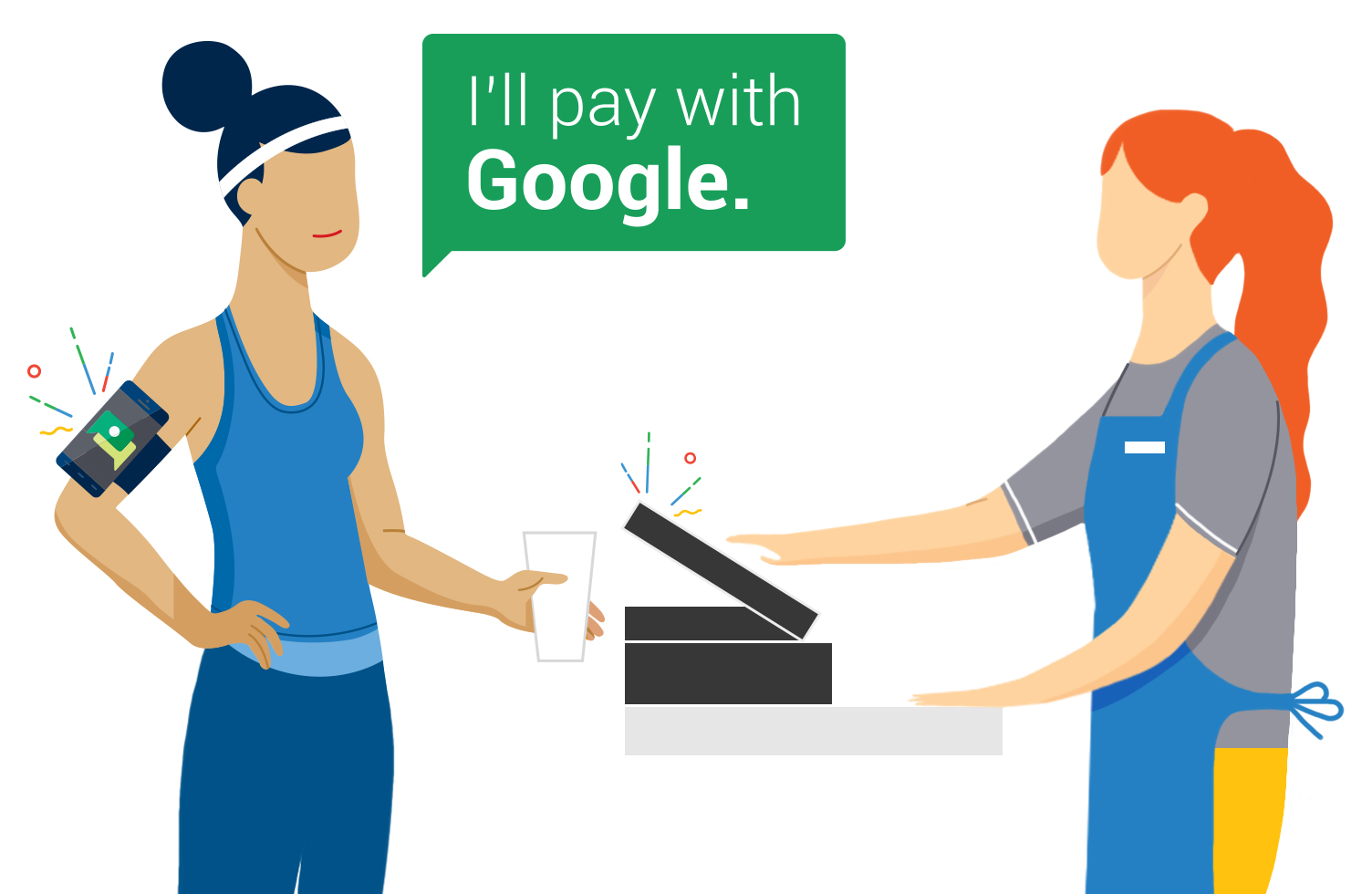 Google、スマートフォンを取り出さずに決済が可能な「Hands Free」を発表