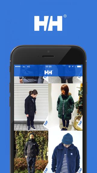 HELLY HANSEN(ヘリーハンセン)、ブランド公式アプリをリリース