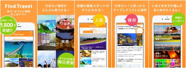 Find Travel、iPhone/iPad向けアプリの提供を開始