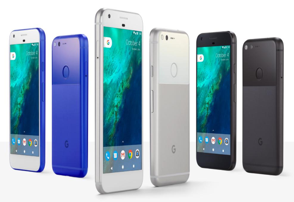 Google、新型スマートフォン「Pixel」を発表 高性能なカメラと無制限ストレージを提供